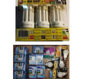 vendo stock lampadine miste