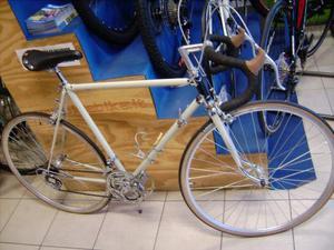 Bici corsa Vintage Galetti acciaio vintage restaurata