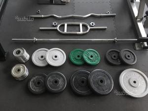 Manubri dischi in ghisa bilancieri