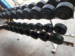 Serie manubri da 22 a 36 kg