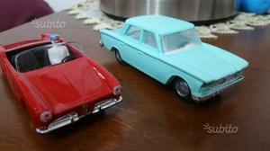 2 politoys Alfa/ Fiat no Burago no mebetoys