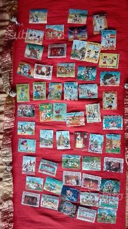 54 francobolli collezione walt disney