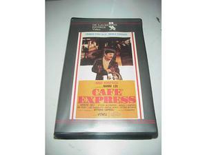 Cafè cafe express nanni loy vhs videocassetta film manfredi