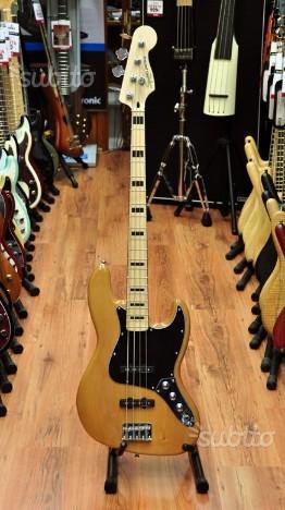 Fender Jazz Bass Natural SVENDITA CHIUSURA NEGOZIO