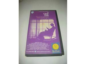 Il colore viola film video videocassetta vhs collezione rara