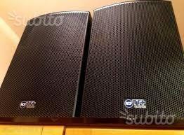 Impianto Audio Professionale RCF TT Plus