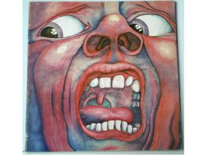 King Crimson - In The Court Of The Crimson King LP ITALY RE.