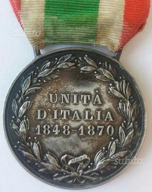 Umberto primo re italia medaglia premio