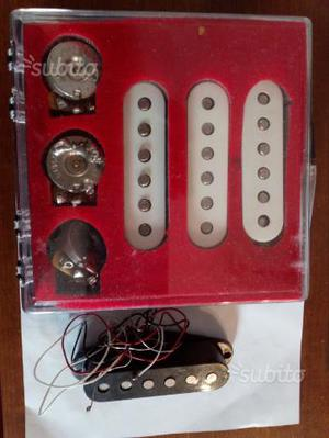 Set pick up Fender stratocaster mex