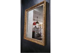 Specchio vintage anni 50 posot class - Specchio antichizzato ...
