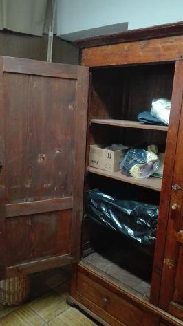 Armadio 2/a in legno vecchio autentico