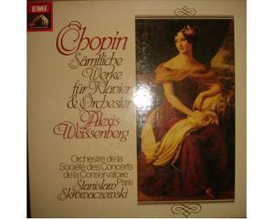 Box set 3 Lp Chopin - Weissenberg orchestra di Parigi