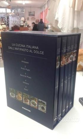 Cofanetto la cucina italiana de agostini