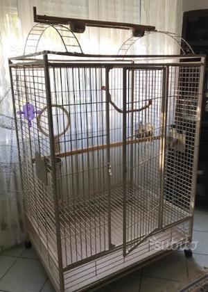 Gabbia pappagalli - H 1,75 x L 100 x P 76