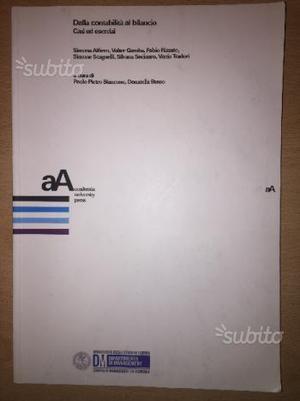 Libro dalla contabilità al bilancio