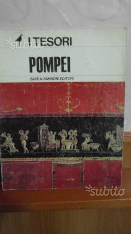 Libro i tesori di pompei