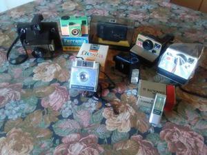 Macchine fotografiche e flash vintage