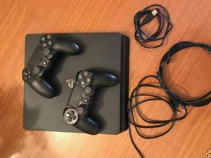 PS4 SLIM NERA 500 GB - 2 JOYSTICK - FIFA