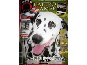 "Quattrozampe "" n.2 riviste per amanti animali da edicola"