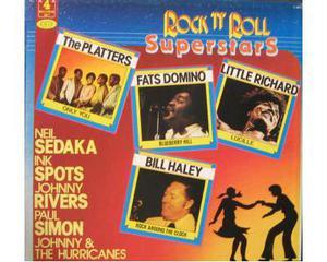 Rock'n'Roll Superstars 4 Lp 33 giri - Joker