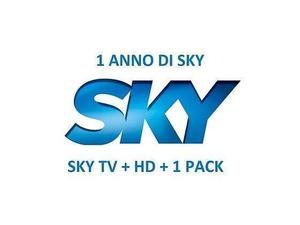 Sky Prepagata SKY tv +1 pack + HD 13 mesi