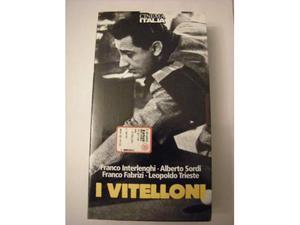 """Vhs """"i vitelloni"""" di F.Fellini"""