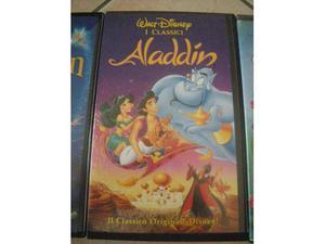 "Vhs originale Disney ""Aladdin"""