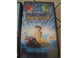 "Vhs originale Disney "" La sirenetta II"""