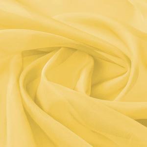 vidaXL Tessuto in Voile 1,45x20 m Giallo