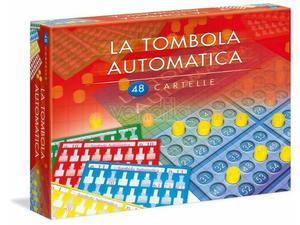 Clementoni  - Tombola Automatica, 48 Cartelle