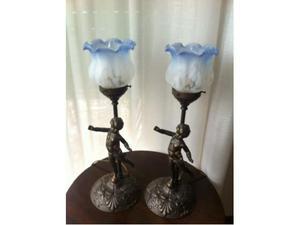 Coppie di lampade da scrivania/abat-jour stile Liberty