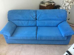 Due divani in alcantara vendibili anche separatamente