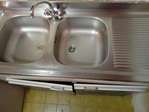 Lavandino in acciaio senza rubinetto posot class for Lavandino acciaio