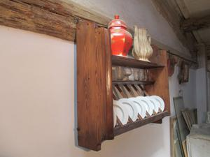 Piattaia in legno di abete