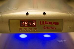Plafoniera Led Acquario Acqua Dolce : Plafoniera wave stratos 5x39 6 led per acquario posot class