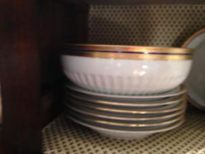 Servizio piatti, the e caffè, in porcellana Bavaria