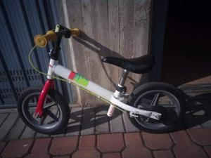 Bici senza pedali btwin run ride balance bike