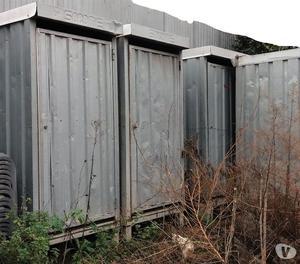 Box usato da cantiere edile in lamiera ct7 posot class for Box in lamiera usati