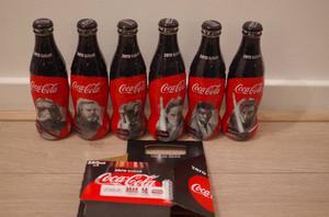 Coca cola set 6 bottiglie vetro Starwars Olanda