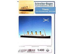 Schreiber bogen 598 titanic  kit modellino