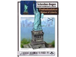 Schreiber bogen 703 statua della liberta  kit modellino