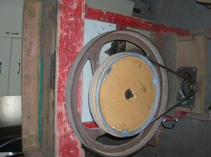 Sgranatrice per pannocchie di mais con motore elettrico