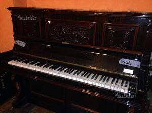 Sgabello antico per pianoforte in noce antico posot class