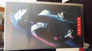 Videocassetta vhs del concerto live dei Simple Min