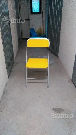 2 Sedie pieghevoli da interno/ esterno
