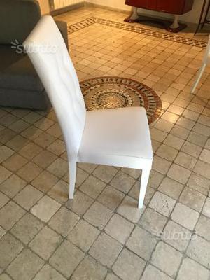 Divano in ecopelle bianco ikea siena posot class for Ikea sedie bianche