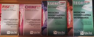 Libri test universitari (chim, fis, medicina)