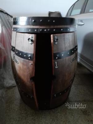 Botti per arredamento posot class for Botti in legno arredamento