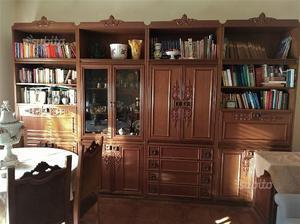 Mobile Armadio Libreria Soggiorno in vero legno