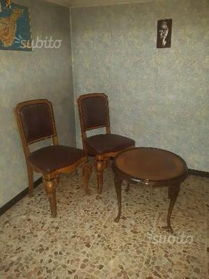 Prossimo annuncio Coppia di sedie in legno con